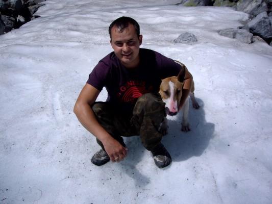 Хрустальное озеро - ледник