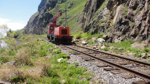 Кругобайкалка-ремонтный поезд