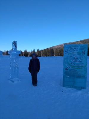 Ледяная библиотека Листвянка 2018