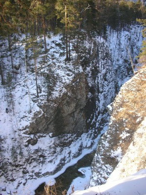 водопады аршан