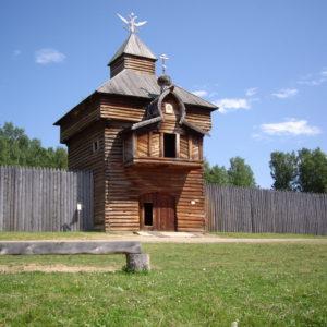 тальцы-Спасская проезжая башня Илимского острога