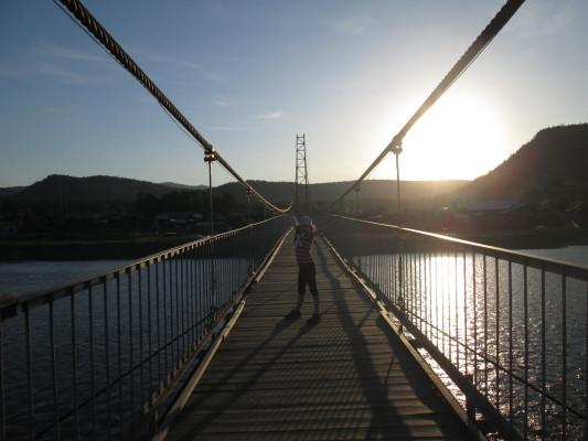 село шаманка мост