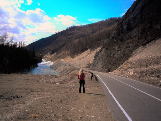 Дорога Култук Монды