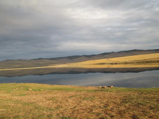озеро ялга ольхон