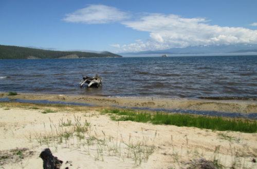 Прилив на Чивыркуйском заливе