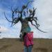 скульптура Хранитель Байкала на Ольхоне